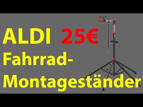 [TEST] ALDI - Fahrrad-Montageständer für 25€ (2019)