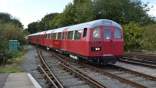 preview picture of video 'Tube Trains Return to the Ongar Branch!'