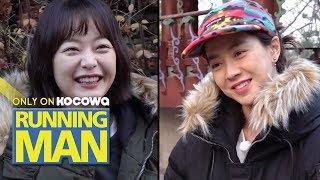jeon so min and kim ji suk running man - TH-Clip