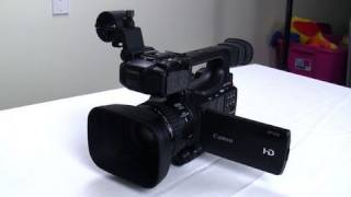 Futurelooks Unboxes the Canon XF100 HD Pro Camcorder