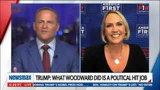 Kelly Sadler Joins Newsmax To Discuss Media Bias Toward President Trump