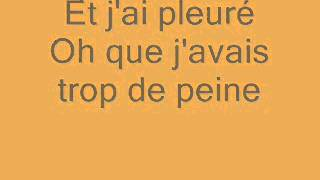 CHRISTOPHE. ALINE (PAROLES)