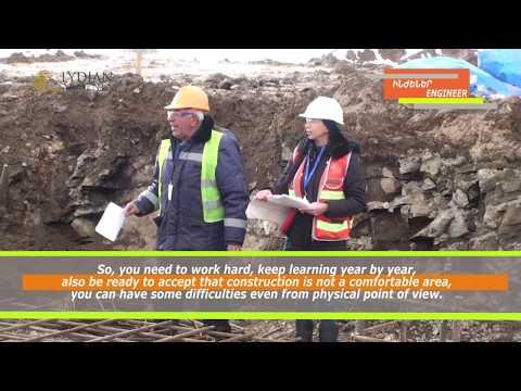 Yelena Kirakosyan- the only female engineer at Amulsar