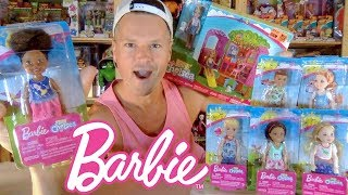 Barbie Club Chelsea Treehouse Playset & 2019 Doll Collection Unboxing Review
