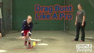 Proper Drag Bunting Technique - TCS Training Tips