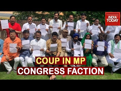 MP Political Crisis: All Attempts Of Congress Fail As Scindia, 19 MLAs Quit Party