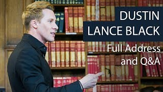 Dustin Lance Black | Full Address and Q&A | Oxford Union