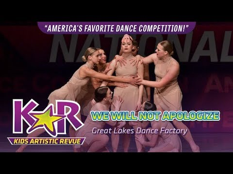 """We Will Not Apologize"" from Great Lakes Dance Factory"