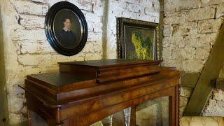 Geheimfächer, Geheimschubladen, versteckte Schließmechanik in Möbeln, secret compartment furniture