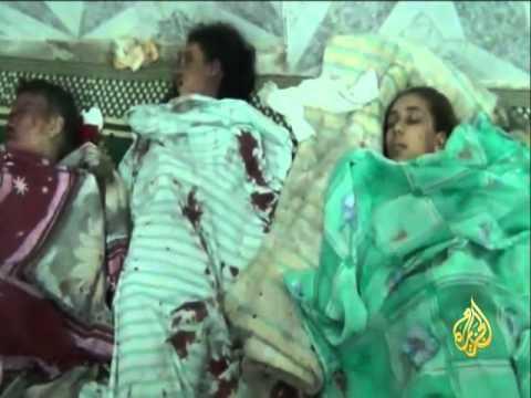 قصف عنيف في درعا يوقع قتلى وجرحى