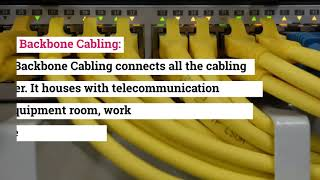 What are the key Components of the Structured Cabling Systems