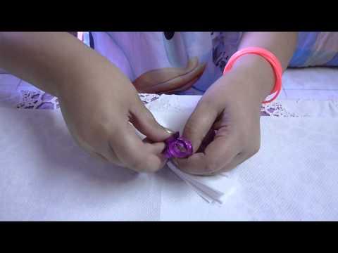 Come fare le Rose con i fazzoletti di carta - Centrotavola fai da te - Video Tutorial