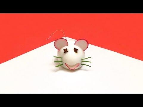 Comment faire une souris avec un oeuf dur