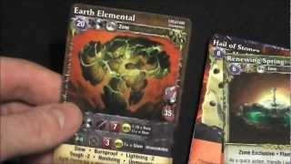 Mage Wars: Forcemaster vs. Warlord Micro Review
