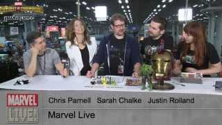 Chris Parnell, Sarah Chalke, and Justin Roiland Talk Rick & Morty on Marvel LIVE! at NYCC 2014