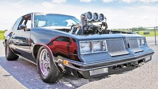 1650hp BLOWN Cutlass - NOT Your Grandad's! by 1320Video