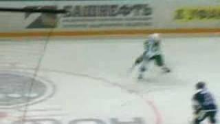 Salavat Yulaev Ufa Dynamo Moscow Fight