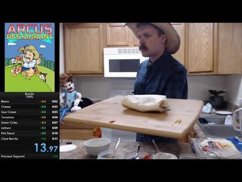 Burrito speedrun in 13.97s by Arcus