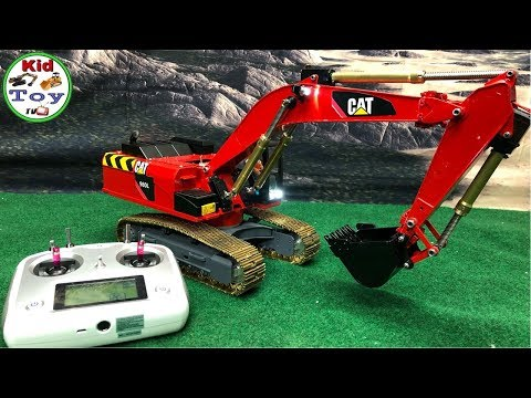163 14 99 Chad Valley Radio Controlled Excavator 187 Toys