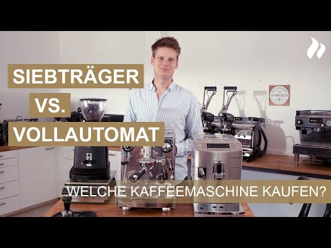 Kaffeevollautomat oder Siebträgermaschine - Was ist besser? | roastmarket