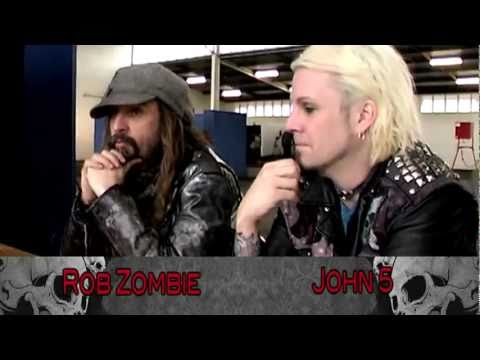 Rob Zombie & John 5 Interview