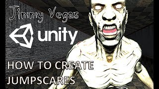 Mini Unity Tutorial - How To Create A Jumpscare Using Trigger Or Timer