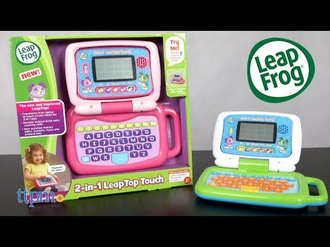 2-in-1 LeapTop Touch Pink & Green from LeapFrog