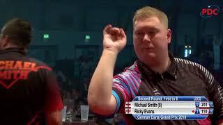 Michael Smith vs. Ricky Evans | German Darts Grand Prix 2019 | Round 2