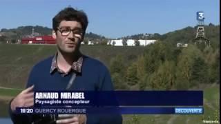 Passage au Journal télévisé de France 3 Quercy-Rouergue