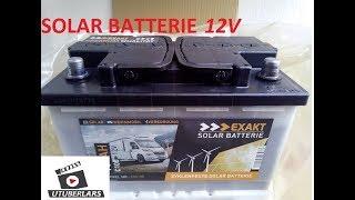 Gute billige SOLAR Batterie 12 Volt für Inselanlage #unboxing #solar #stromspeicher #windkraftanlage