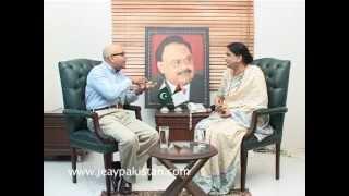 JeayPakistan kay Saath Senator Nasreen Jalil MQM Part 2