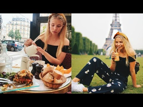 GIRLS TRIP TO PARIS VLOG ! Summer 2018 | Macerly