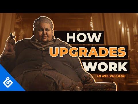 Resident Evil Village : Le système d'améliorations en vidéo