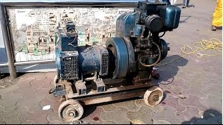 Diesel Electricity Generator Model India 2014 [HD VIDEO]