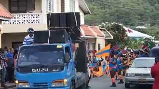 preview picture of video 'Carnival, Hillsborough, Carriacou, Grenada pt.1'