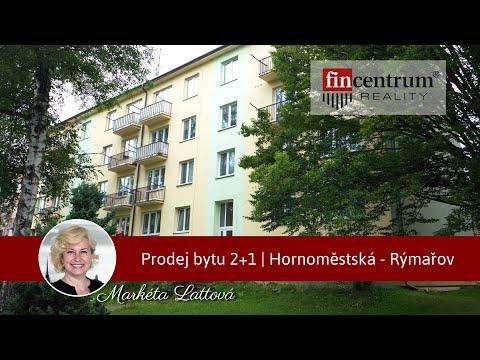 Prodej bytu 2+1 53 m2 Hornoměstská, Rýmařov
