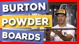 2020 Burton Powder Snowboards Overview