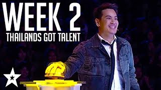 Thailand's Got Talent Auditions | WEEK 2 | Got Talent Global