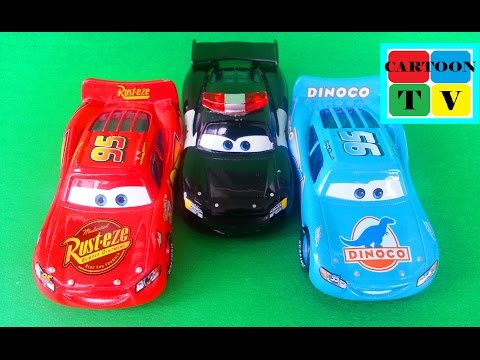 Lightning McQueen Cars Disney Pixar Full Episodes #3 Cartoon For Kids