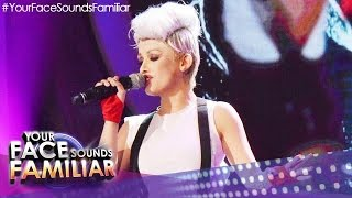 """Your Face Sounds Familiar: KZ Tandingan As Pink - """"Just Give Me A Reason"""""""