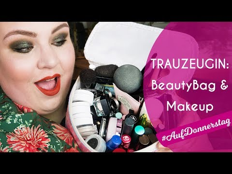 WHAT'S IN MY MAKEUP BAG 👜 Hochzeitsgast & Trauzeugin: Beauty Produkte im Etui + Demo + Mini-Reviews