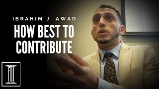 How Can Muslim Attorneys Best Contribute to the Muslim Community?