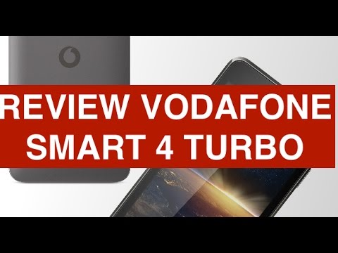 Video review Vodafone Smart 4 Turbo 4G
