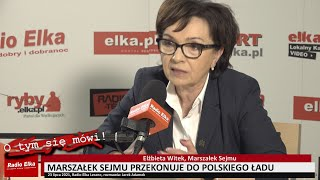 Wideo1: O tym się mówi: Marszałek Sejmu Elżbieta Witek przekonuje do Polskiego Ładu