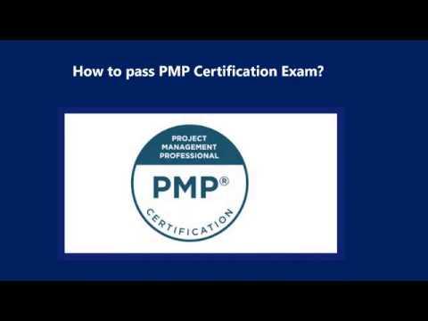 How to pass PMP Certification Exam?   Testpreptraining ... - YouTube
