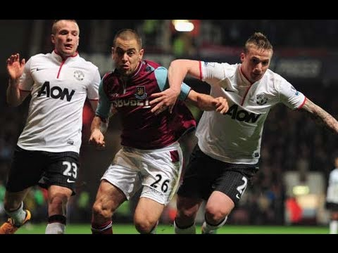 West Ham United 2-2 Manchester United | The FA Cup 3rd Round 2013 | MTW