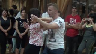 Презентация Бачата на открытых уроках в LaVida. Владимир и Даша. 14.09.2016