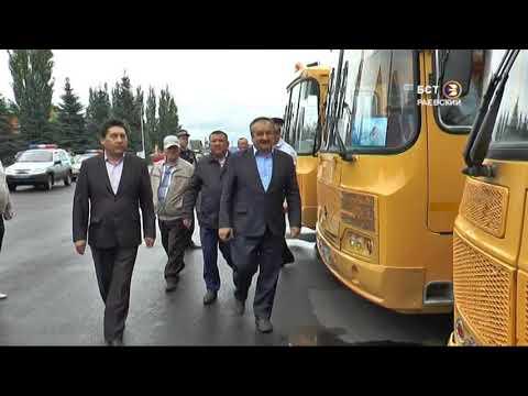 Техосмотр школьных автобусов
