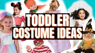 Toddler Halloween Costume Ideas (POTTERY BARN KIDS, TARGET, WALMART)