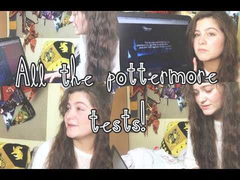 ALL THE POTTERMORE TESTS!